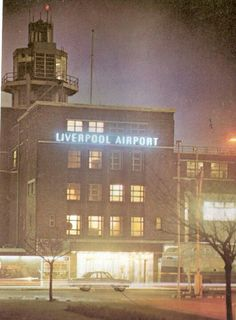 Liverpool Airport 1966