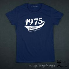 40th birthday t shirt ideal gift for her whether by UtterApparel