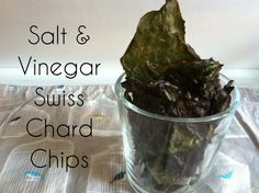Salt and Vinegar Swiss Chard Chips (vegan, paleo, raw) - Domestic360