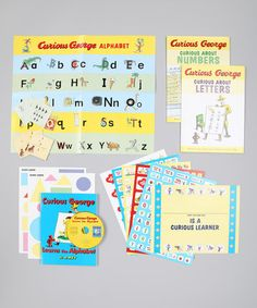 Take a look at this Curious About Learning Boxed Set by Curious George Collection on #zulily today!