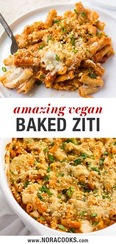 This Healthy Vegan Baked Ziti is amazing! Layered with cashew ricotta cheese, nu. Diet , , This Healthy Vegan Baked Ziti is amazing! Layered with cashew ricotta cheese, nu. This Healthy Vegan Baked Ziti is amazing! Layered with cashew rico. Vegan Dinner Recipes, Pasta Recipes, Vegetarian Recipes, Healthy Recipes, Vegan Quick Dinner, Healthy Quick Dinners, Weeknight Recipes, Dinner Healthy, Snack Recipes