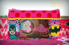 Girl Power Pouch- Fabric or Clear Front