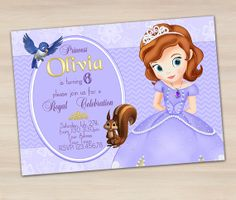 Hey, I found this really awesome Etsy listing at https://www.etsy.com/listing/188816170/sofia-the-first-invitation-princess