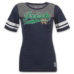 adidas Notre Dame Fighting Irish Varsity NCAA Women s Tee Shirt  28 Notre  Dame Shirts ed0a12701