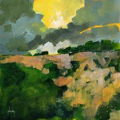 Heathland storm8 x 8 inches2012 Paul Bailey