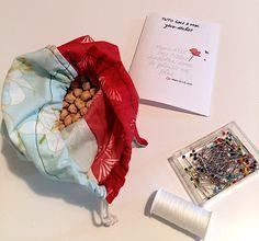 Tuto : coudre un sac à vrac zéro-déchet - Mars-ELLE Baby Couture, Boutique, Sewing Tutorials, Gift Wrapping, Mars, Crochet, Pattern, Kit Diy, Courses