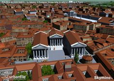 Roman History, Old Images, Ancient Rome, Roman Empire, Bella, Milan, Mansions, House Styles, City