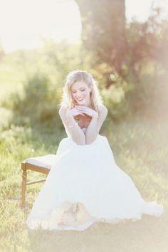 ballet bridal portrait