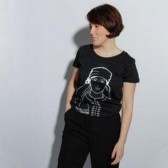Tricouri Dama | Alisia Enco Mens Tops, T Shirt, Fashion, Supreme T Shirt, Moda, Tee Shirt, Fashion Styles, Fashion Illustrations, Tee