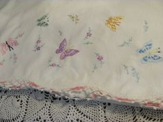 Multiple Colorful Butterflies on Vintage by THISPLUSTHAT on Etsy