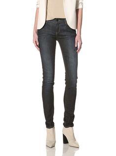 43% OFF !iT Jeans Women's Skinny Jean (Blue Coat)