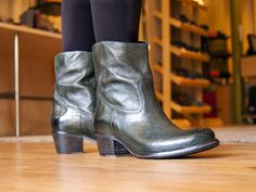Green western boots made in Italy? Yes please!