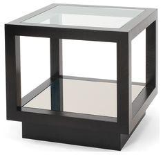 Infinity Side Table Oak, Side Tables, Furniture, Decorus Furniture