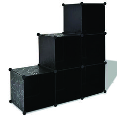 This multifunctional organizer with 6 cube compartments is very practical. It can be used as a shoe rack, a bookcase, a sideboard, etc. Wooden Shoe Cabinet, Shoe Storage Cabinet, Cube Storage, Storage Rack, Storage Spaces, Black Shoe Rack, Black Shoes, Shoe Rack Sideboard, Cubes