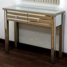 Gentil Hokku Designs Mirror Stripes Console Table | Wayfair UK