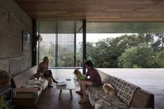 Sawmill House is a Victorian Architecture Awards winning project New House under category, Sustainable Architecture. Architecture Awards, Interior Architecture, Interior Design, Room Interior, Recycled Concrete, Sliding Wall, Australian Architecture, Architect House, Architect Design