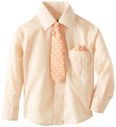 American Exchange Little Boys' Dress Shirt with Tie and Pocket Square, http://www.amazon.com/dp/B00971OCWA/ref=cm_sw_r_pi_awdm_hU2-vb05D99NP