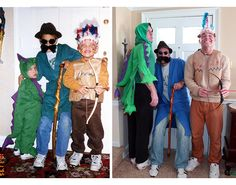3 Brothers Recreate Childhood Photos as Gift to Mom