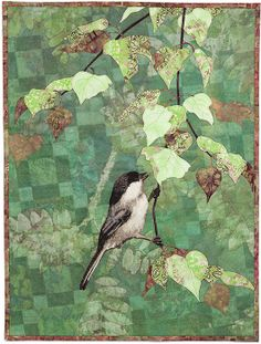Chickadee by Karin Franzen