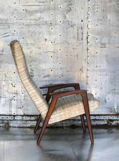 Yngve Ekström; Lounge Chair for Pastoe, 1950s.