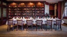 Dineren in de bibliotheek van Hampshire Hotel - De Broeierd Enschede