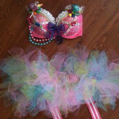 GoGirl Candy bra top with TuTu