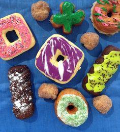 Making homemade doughnuts is easier than you think! www.garlicfingersblog.com