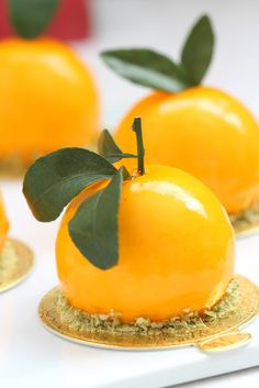 my bare cupboard: Mandarin orange and matcha entremet, Desserts, my bare cupboard: Mandarin orange and matcha entremet. Zumbo Desserts, Gourmet Desserts, Mini Desserts, Plated Desserts, Just Desserts, Dessert Recipes, Entremet Recipe, Orange Mousse, Mango Mousse Cake