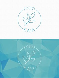 Logo design for FYSIOKAIA - Finland - by Pennanen Design Ui Design, Graphic Design, Finland, Spa, Branding, Logos, Projects, Log Projects, Brand Management