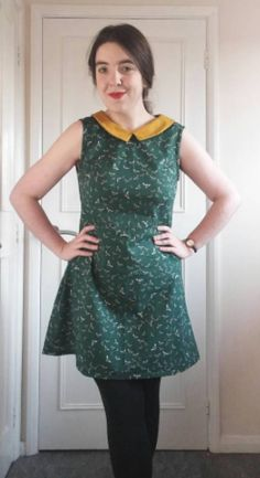 Lorna's Francoise dress - sewing pattern by Tilly and the Buttons