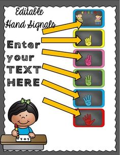 Hand signals are a strategy to reduce interruptions during instruction, and…