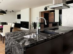 Update your kitchen or bath with natural stone, solid wood, or recycled glass mosaic countertops. We offer custom countertops for all applications.// #kitchen #kitchenideas #kitchendesign #dreamkitchen #interiordesign #homeideas #modernkitchen #appliances #houseideas #missionwestkitchenandbath