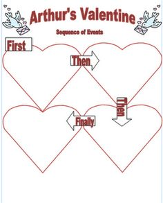 Arthur's Valentine sequencing activity and link to FREE online version of this book.