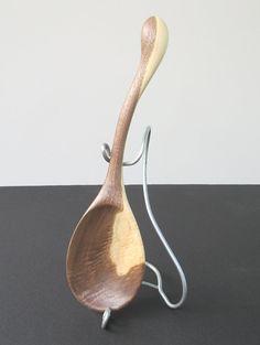 Handmade Wooden Spoon Walnut by thesundaywoodcarver on Etsy, $24.99