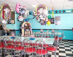 50's Diner Grand Opening! 50s Diner, Vintage Diner, Diner Ideas, Diners, Grand Opening, Soda, Basement, Birthdays, Parties