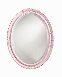 Oval Princess Mirror - Multiple Colors