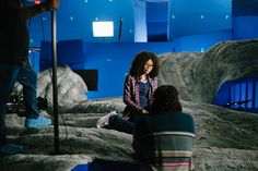 Wrinkle in Time Photos Take You Behind the Scenes Kid Movies, Movie Tv, Levi Miller, Disney Girls, Disney Live, A Wrinkle In Time, Walt Disney Studios, Time Photo, Love Movie