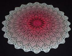 Painted Doily by ferosah