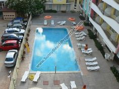 Pool view & partial sea view furnished 1-bedroom apartment for sale in complex Blue Marine 70m from beach Sunny beach, Bulgaria - Sunnybeach Properties - Real Estates in Bulgaria. Apartments, Villas, Houses, Land in Sunny Beach, Nesebar, Ravda ...