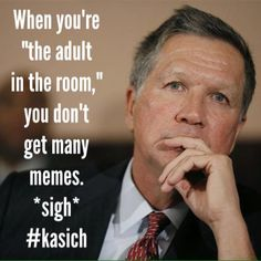 Well, he has won Manhattan, Trump's home turf, so I'd say he'll be getting attacked by Chump & Co through an assortment of stupid memes soon enough. Kasich is the only reason Trump did not win all 95 delegates in NY, a fact worth repeating often. Trump Home, John Kasich, Stupid Memes, Hot Topic, Facts, Sayings, Manhattan, Evans, Lyrics