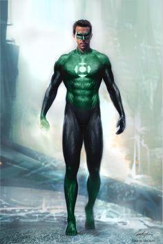 Green Lantern Movie Concept Art