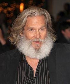 Jeff Bridges' fantastic hair & beard! Oh boy!!!!