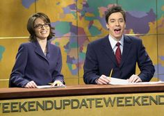 Tina Fey and Jimmy Fallon are the reason I became a fan of SNL. :)
