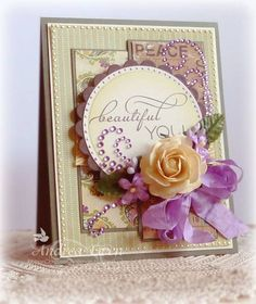 Corinna...Beautiful You by AndreaEwen - Cards and Paper Crafts at Splitcoaststampers