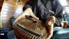 Kalimba África Ancestral - 14 Notas - Eletroacústica