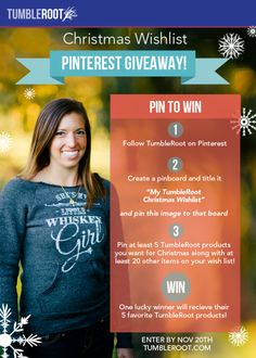 christmas list pin to win-email post
