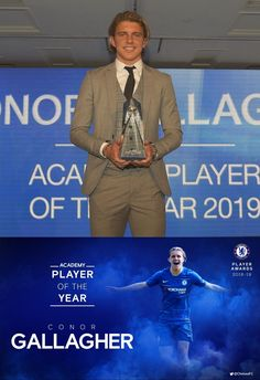 10/05/2019 - The Academy Player of the Year award goes to Conor Gallagher!