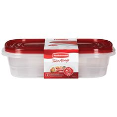 Rubbermaid Take Alongs Food Storage Containers