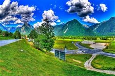 Bovec Town in Slovenia Europe Country Nature HD Wallpaper