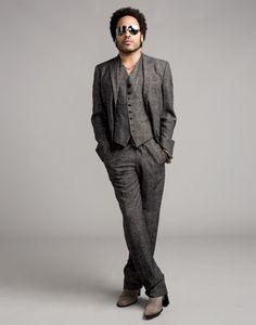 Celeb Diary: Lenny Kravitz in Ocean Drive (octombrie Sharp Dressed Man, Well Dressed Men, Gents Fashion, Lenny Kravitz, Ocean Drive, Stylish Men, Style Guides, Black Men, Beautiful Men